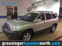*2004 HYUNDAI SANTA FE GLS 4x4 *4DR SUV LOADED WITH