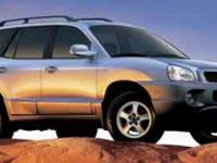 Check out this 2004 Hyundai Santa Fe GLS. Its Automatic