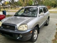 1 owner 2004 Hyundai Santa Fe $4500 OBO. Heated leather