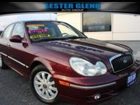 This 2004 Hyundai Sonata GLS is proudly offered by