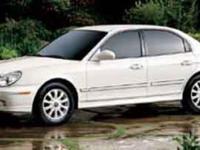 Options:  2004 Hyundai Sonata Gls Gold/ V6 2.7L