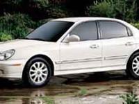 Introducing the 2004 Hyundai Sonata! A great car and a
