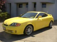 This 2004 Hyundai Tiburon is offered to you for sale by