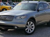 Options:  2004 Infiniti Fx35 Base|Check Out This