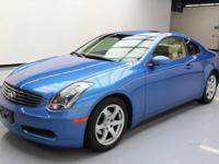 This awesome 2004 Infiniti G35 comes loaded with the