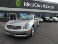 Infiniti G35 Coupe!!! Automatic, A/C, Tan Leather