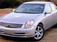 Options:  2004 Infiniti G35 Sedan Base|Diamond Graphite