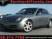 We are happy to offer you this *1-OWNER 2004 Infiniti