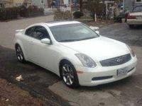 2004 Infiniti G35 Coupe Recently professionally painted