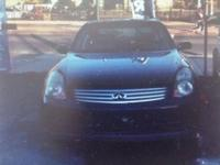 2004 INFINITI G35 X AWD WITH ABOUT 119,000 MILES, with