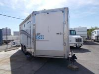 2004 Innovator 24' Cargo trailer This is a triple axle
