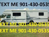 It sleeps 6 and has a Ford E-450 engine, a generator,