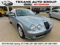***2004 JAGUAR S TYPE 4.2L LOADED ALL POWER LEATHER