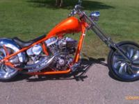 I presently have a 2004 Jax Pattern Custom Chopper for