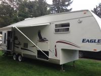 2004 Jayco Eagle 301 RLS 30 Ft. Fifth Wheel. One Prior