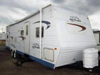 I have a 2004 Jayco Flight 31ft pull behind camper with