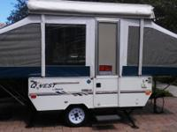2004 JAYCO QWEST POP UP CAMPER GARAGE KEPT SUPER CLEAN