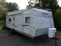 Asking $7,900.00. This toy hauler is in good condition