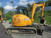 2004 JCB 8060 2004 JCB 8060 Backhoe Loader 13 000 LB