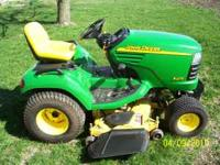 2004 John Deere X475 23hp liquid cooled kawasaki engine