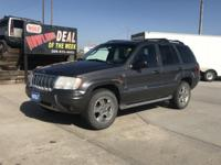 Look at this 2004 Jeep Grand Cherokee Overland. Its
