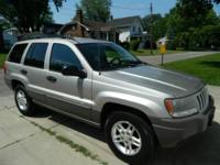 For Sale: 2004 Jeep Grand Cherokee Laredo. Champagne
