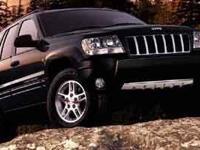 Jeep Grand Cherokee Black PowerTech 4.7L V8, 4WD.