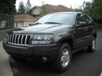 Selling a 2004 Jeep Grand Cherokee in good condition.