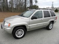 2004 Jeep Grand Cherokee Limited 4x4 4.7L V8. 123k