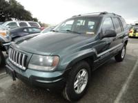 The 2004 Jeep Grand Cherokee is a joy to drive both on