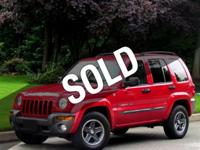 This 2004 Jeep Liberty 4dr ROCKY MOUNTAIN EDITION/