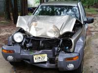 2004 Jeep Liberty Sport front end hit in center