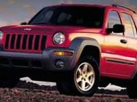 Recent Arrival! 2004 Jeep Liberty Sport 4WD PowerTech