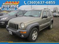Sport trim. SPEED CONTROL, FOG LAMPS, CD Player, 4x4,