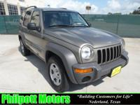 Options Included: N/A2004 Jeep Liberty, tan with tan