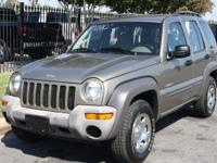 "Options Included: N/A""Nice & Clean Jeep! Looks and runs"