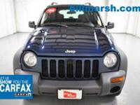 Liberty Sport, Blue, 4X4 / 4WD, Air Conditioning,