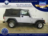 2004 Jeep Wrangler Unlimited. This vehicle comes with
