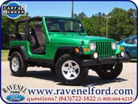 Options Included: 2004 Jeep Wrangler Tj Rubicon 4x4 **