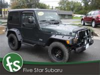 Options Included: N/AVery nice looking Jeep Wrangler