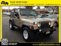 This is a 2004 Jeep Wrangler Rubicon 4x4 with 48,000