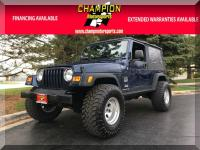 Options:  2004 Jeep Wrangler 2Dr Unlimited Lwb|Champion