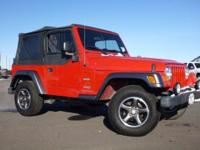 Options Included: Cloth Seats, Folding Soft Top