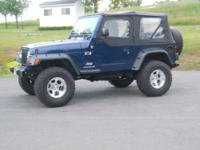 2004 Jeep Wrangler X. 57,000 miles Dark Metallic