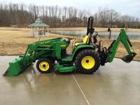 = $4,410 = 2004 John Deere 4310 4x4 tractor with only