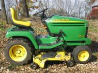 2004 John Deere GX345 all terrain riding lawn