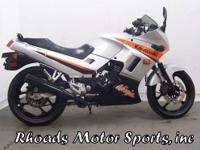 2004 Kawasaki EX250 Ninja with 6,970 Miles. This is a