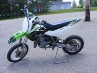 The 2004 Kawasaki KX65 is the perfect motocross bike