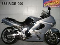 2004 Kawasaki Ninja 1200. Sport bike for sale with only
