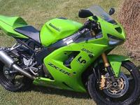 UP FOR SALE IS MY KAWASAKI NINJA 600RR...IT ONLY HAS